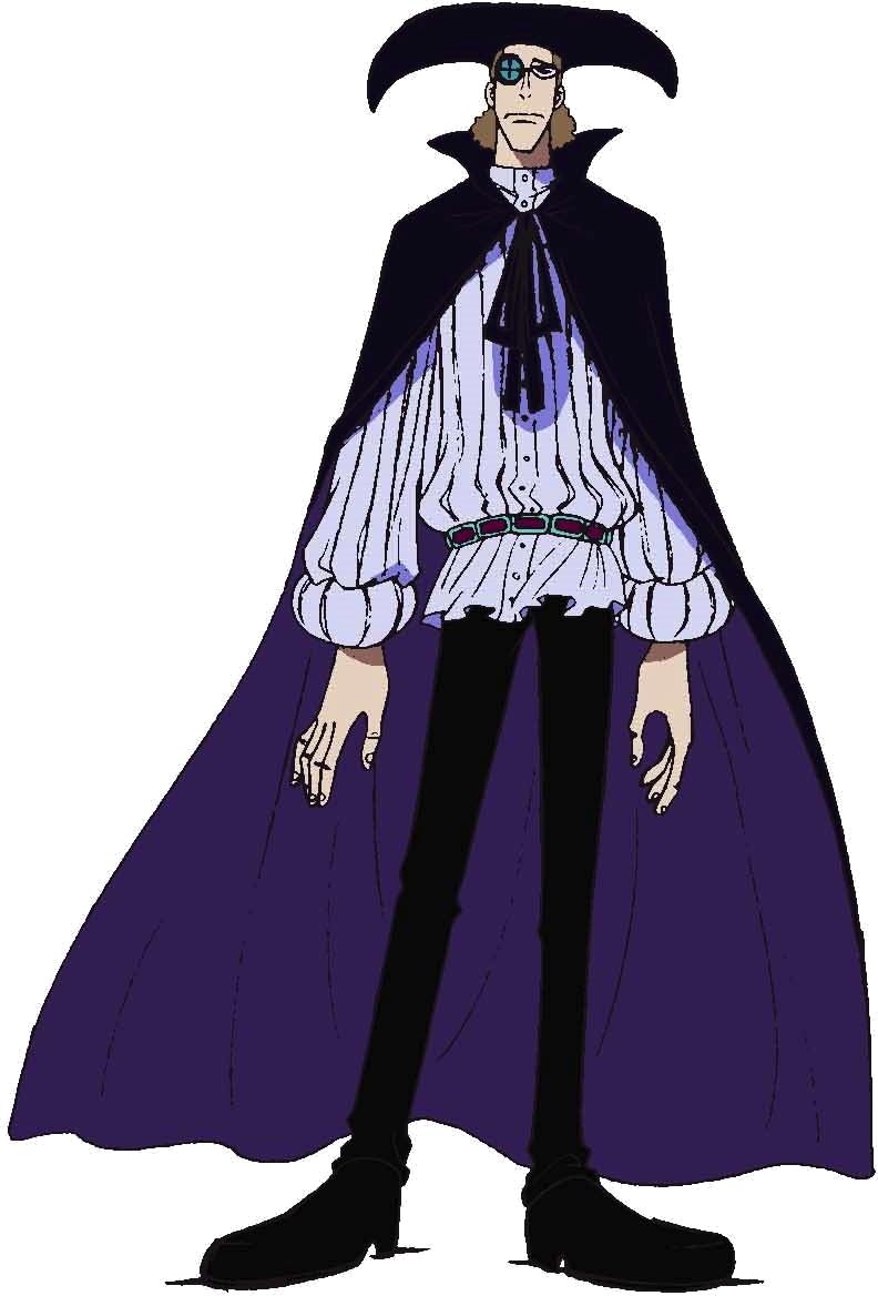 ヴァン オーガー One Piece Height Compare